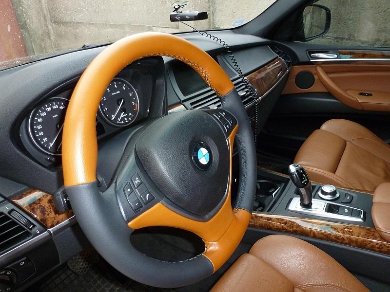 Перетяжка салона автомобиля - руль, сидения, передняя панель