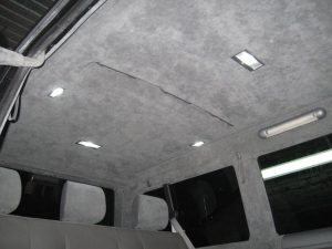 Перетяжка потолка автомобиля в Минске